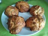 Cookies au chèvre et au jambon